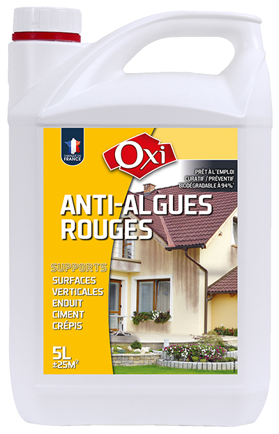 Oxi anti algues rouges pr t l 39 emploi for Algue rouge piscine