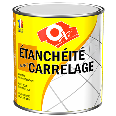 Oxi etanch it avant carrelage for Peinture anti humidite interieure