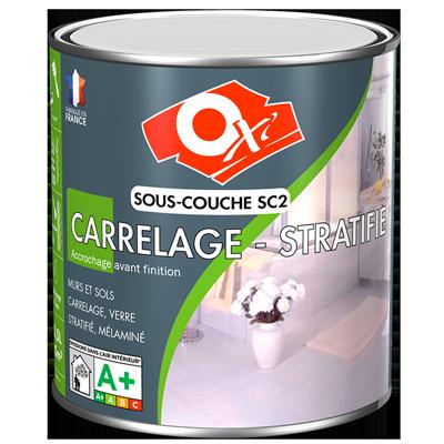 Oxi sous couche carrelage stratifi sc2 for Peinture carrelage sans sous couche
